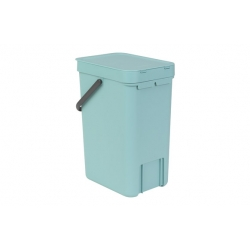 Cubo de reciclaje brabantia sort and go menta 12 l