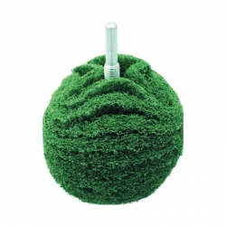 Bola pulir metales asein 75 mm verde pulido medio