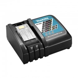Cargador de bateria rapido makita dc18rc 18v litio-ion