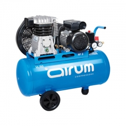 Compresor correa airum mercure b2800b 3 hp 50 l