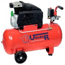 Compresor monobloc lubricado uniair jm21050 2 caballos 50 litros