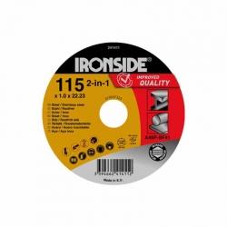 Disco acero extraplano ironside 125 x 1 x 22 mm