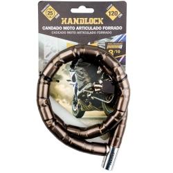 Antirrobo moto articulado forrado handlock 120cm292908
