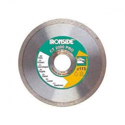 Disco de diamante ironside ceramico ct2000 profesional 125 mm