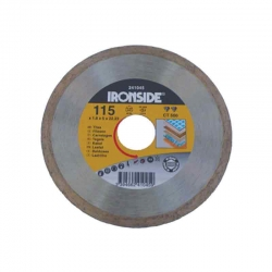 Disco de diamante ironside ceramico ct500 profesional 125 mm