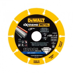 Disco de diamante dewalt corte metales 125 mm