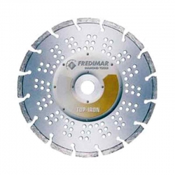 Disco de diamante fredimar segmentado laser top-iron 115 mm
