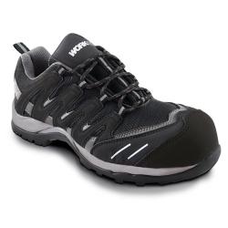 Zapato seguridad workfit trail negro talla 45