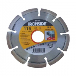 Disco de diamante ironside segmentado laser 500 125 mm