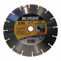 Disco de diamante ironside obra 230x2,5x10 mm