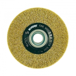 Disco laton 125 x 18 -0,30 mm + anillos reductores ironside