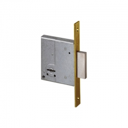 Cerradura seguridad cisa 57220 50 mm latonada