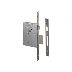 Cerradura seguridad cisa 57250 60 mm niquelada