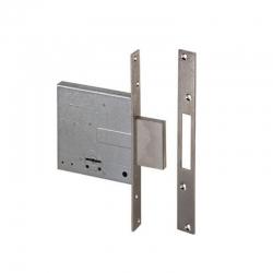 Cerradura seguridad cisa 57010 50 mm niquelada