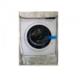 Funda lavadora ambit carga frontal madera blanca