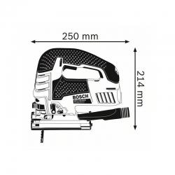 Sierra de calar bosch gst 150 bce + accesorios294320