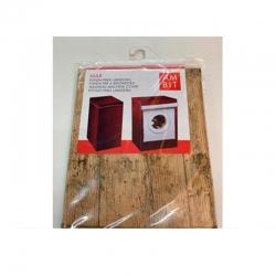 Funda lavadora ambit carga superior madera media