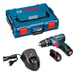 Taladro bateria bosch percutor gsb12 v-15 -li 2 baterias 2.0 y maletin