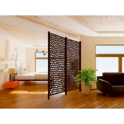 Panel decorativo nortene mosaic 1 x 2 m marron