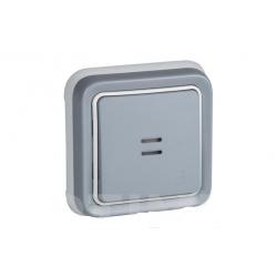 Base schuko empotrar gris ip55 plexo296191