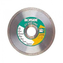 Disco de diamante ironside ceramico ct2000 profesional 115 mm