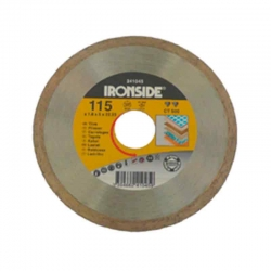 Disco de diamante ironside ceramico ct500 profesional 115 mm