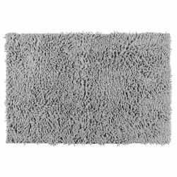 Alfombra de baño chenille wenko gris