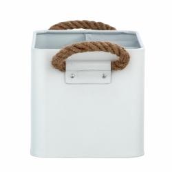 Cesta de baño con compartimentos blanco296960