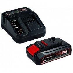 Bateria 18 v 2,5 ah y cargador rapido einhell