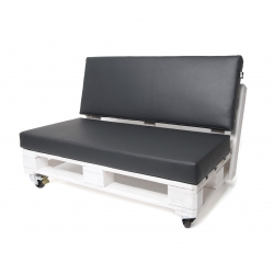 Cojin asiento para palet negro