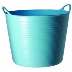 Cubo flexible tubtrugs 38l azul multiusos