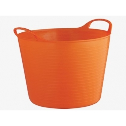 Cubo flexible tubtrugs 38l naranjo multiusos