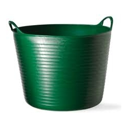 Cubo flexible tubtrugs 14l verde multiusos