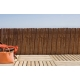 Valla corteza milwaukee abeto natural 2x3 mt