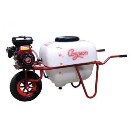 Carretilla pulverizadora campeon cpe-1001 motor electrico