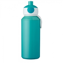 Botella pop-up campus rosti mepal 400 ml turquesa