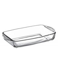 Fuente horno de vidrio 33,6x19x5 cm