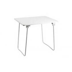 Mesa camping aluminio plegable alco 80 x 60 cm