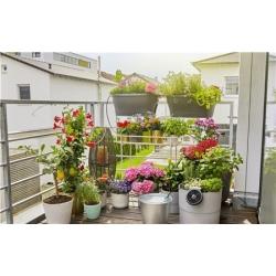 Riego aquabloom set terraza balcon