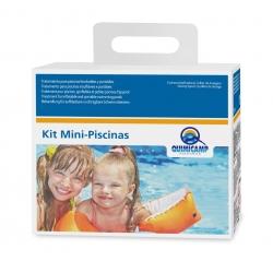 Algicida y cloro para piscinas hinchables y portatiles