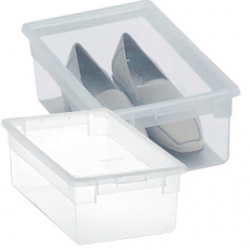 Caja multiusos light box transparente 5 litros