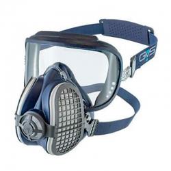 Mascarilla con visor para polvo humos y vapor integra p3