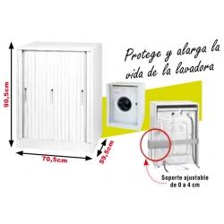 Mueble lavadora garofalo 90,5 x 70,5 x 59,5 cm puerta corredera303090