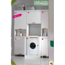 Mueble lavadora garofalo 90,5 x 70,5 x 59,5 cm puerta corredera303091