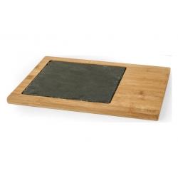 Tabla de cortar pengo pizarra bambu 25x33 cm