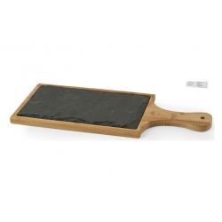 Tabla de cortar pengo pizarra bambu 17x40 cm