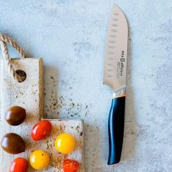 Cuchillo de cocina santoku bra efficient 130 mm