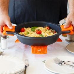 Protector multiusos de silicona naranja bra safe 24 cm305583