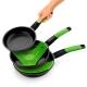Protector multiusos de silicona verde bra safe 24 cm