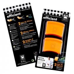 Asas de silicona bra efficient 36-45 cm305787